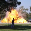 Simulated Van Explosion